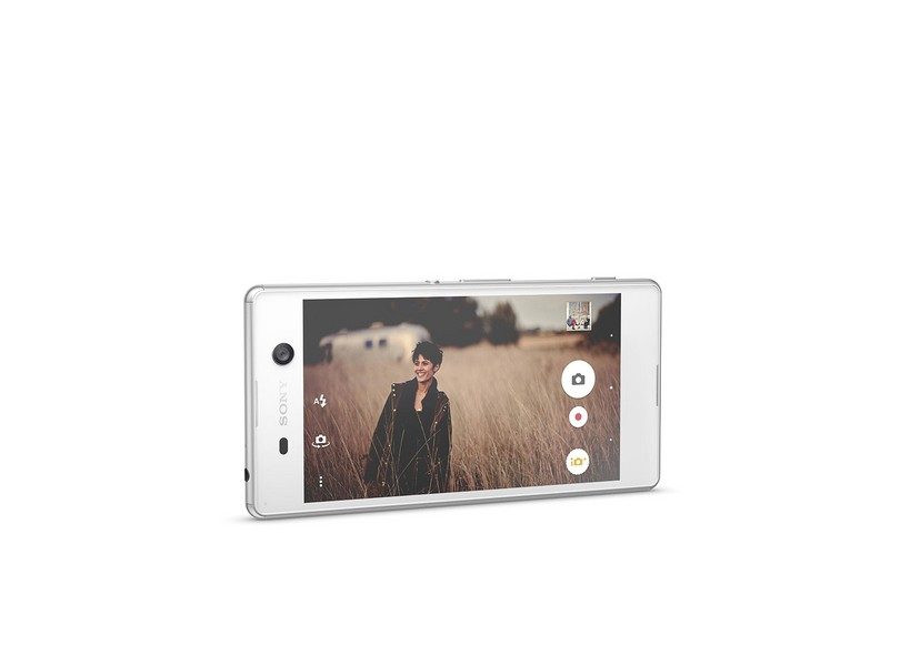 Smartphone Sony Xperia M5 2 Chips 16GB Android 5.0 (Lollipop) 3G 4G Wi-Fi