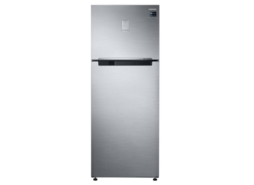 Geladeira Samsung Top Mount Freezer Frost Free Duplex 453 l Inox RT46K6261S8