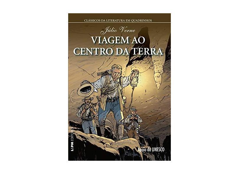 Viagem ao Centro da Terra - Quadrinhos - Capa Comum - 9788525432292