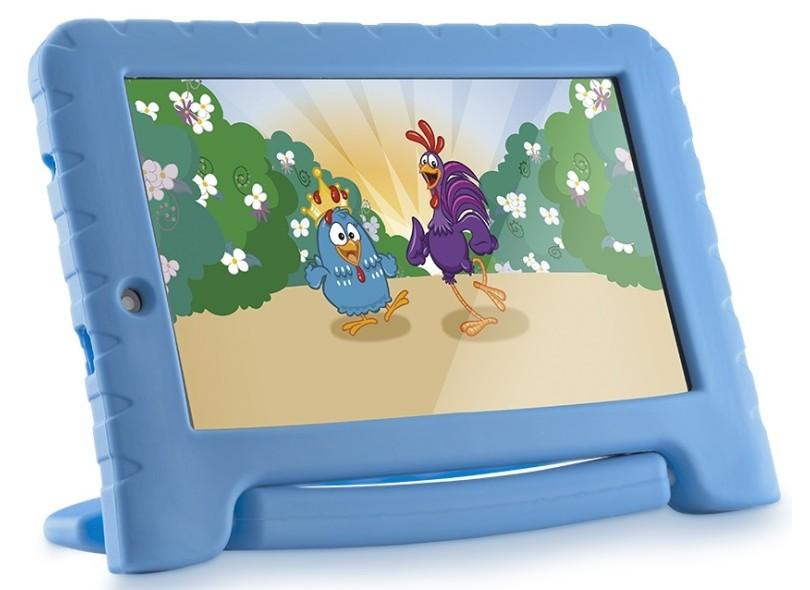 "Tablet Multilaser 8.0 GB IPS 7 "" Android 7.0 (Nougat) 2.0 MP Galinha Pintadinha Plus"