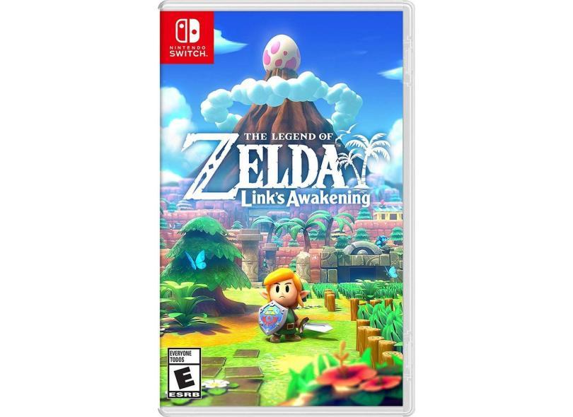 Jogo The Legend of Zelda Link's Awakening Nintendo Nintendo Switch