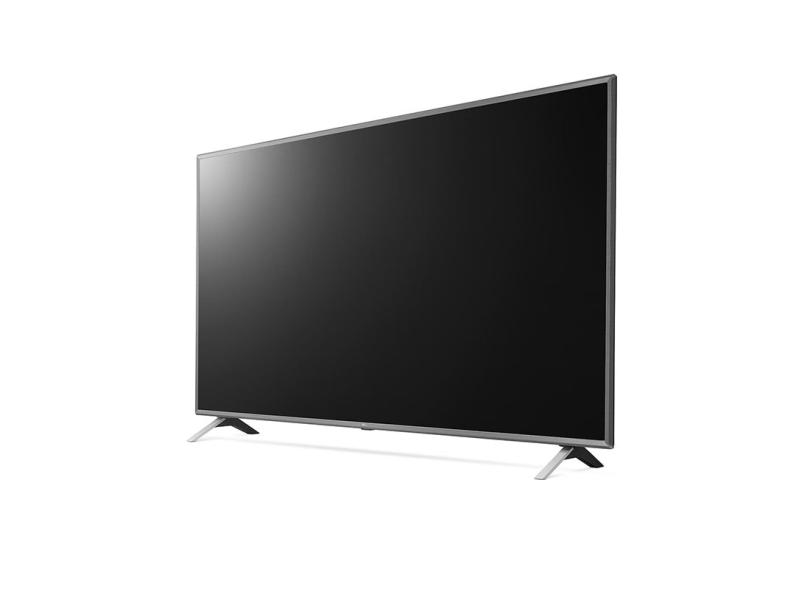 "Smart TV TV LED 86 "" LG ThinQ AI 4K HDR 86UN8000PSB 2 HDMI"