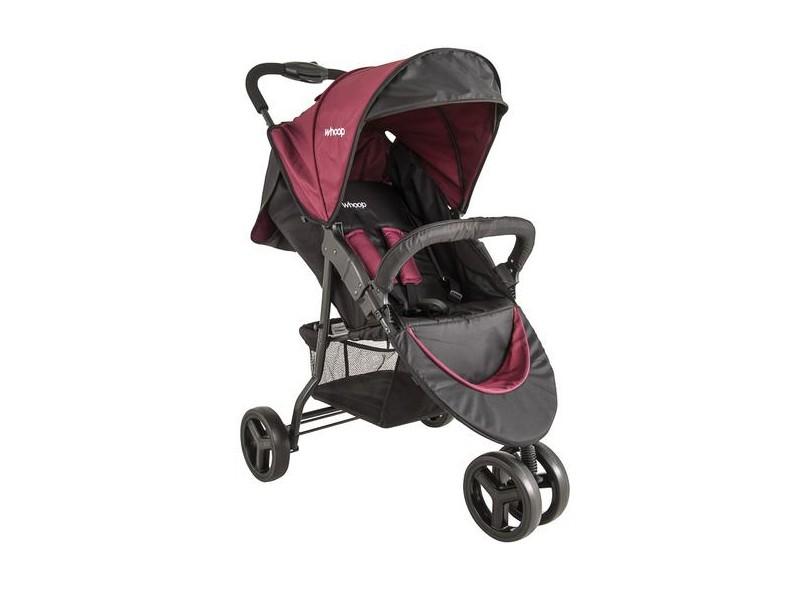 Carrinho de Bebê Travel System com Bebê Conforto Lenox Whoop Trio 8004