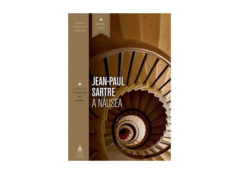A náusea - Jean-paul Sartre - 9788520943755