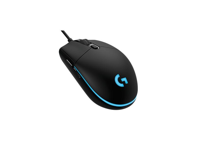 Mouse Óptico Gamer USB G Pro - Logitech