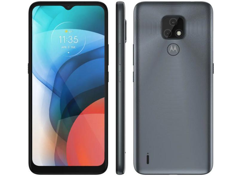 Smartphone Motorola Moto E E7 XT2095-1 64GB 2 Chips Android 10