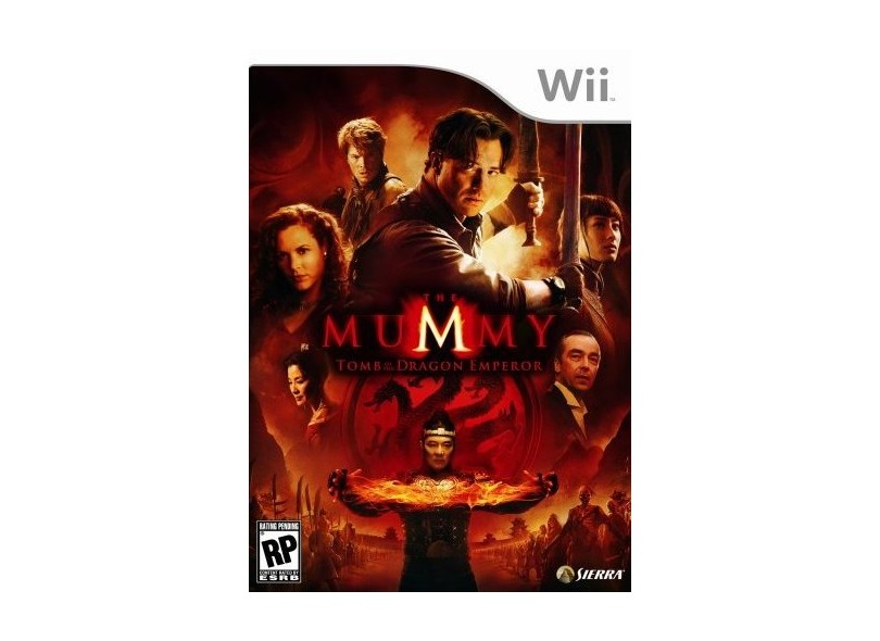 Jogo The Mummy Tomb of the Dragon Emperor Sierra Wii