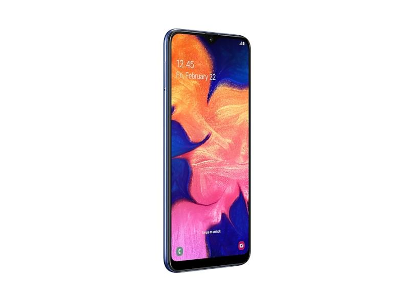 Smartphone Samsung Galaxy A10 32GB 13,0 MP 2 Chips Android 9.0 (Pie) 3G 4G Wi-Fi