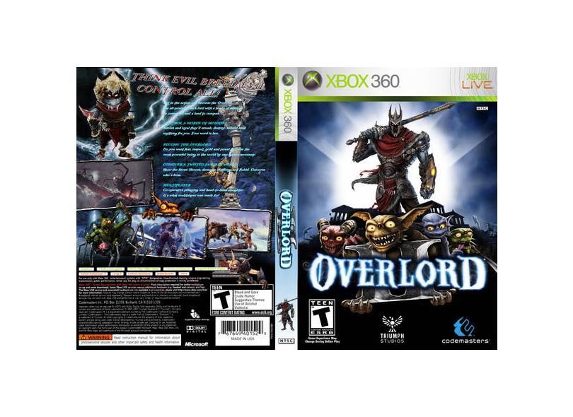 Jogo Overlord 2 Codemasters Xbox 360