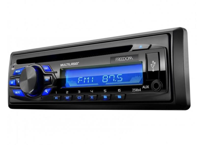 CD Player Automotivo Multilaser P3239