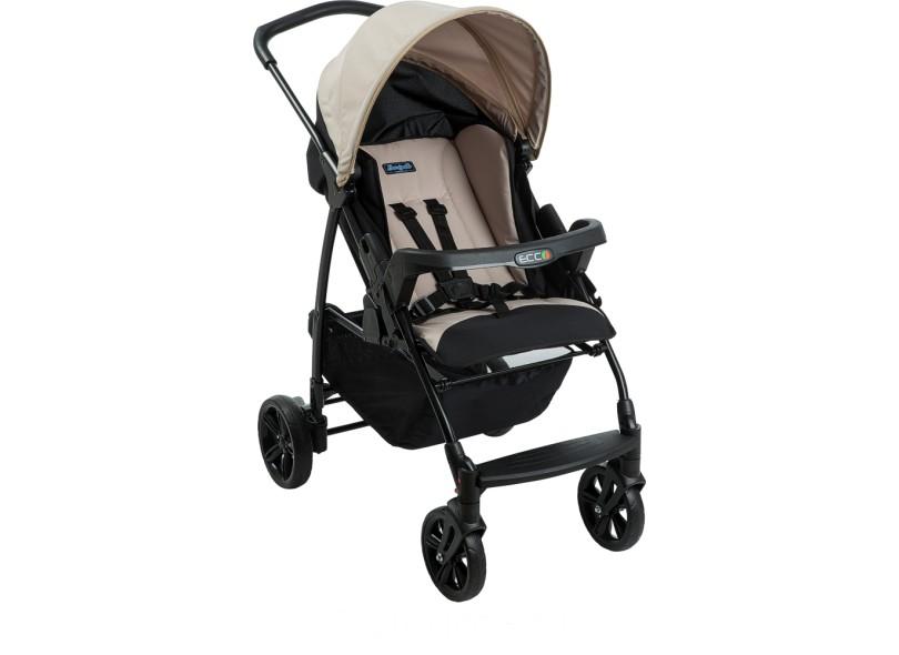 Carrinho de Bebê com Bebê Conforto Burigotto Ecco