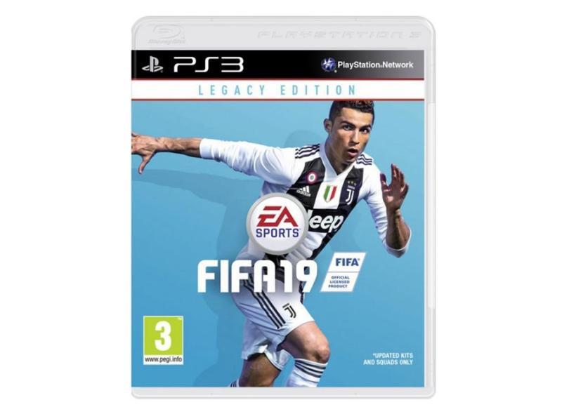 Jogo FIFA 19 PlayStation 3 EA