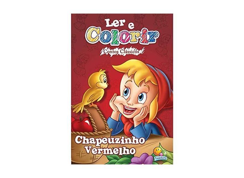 Chapeuzinho Vermelho - Capa Comum - 9788573897456