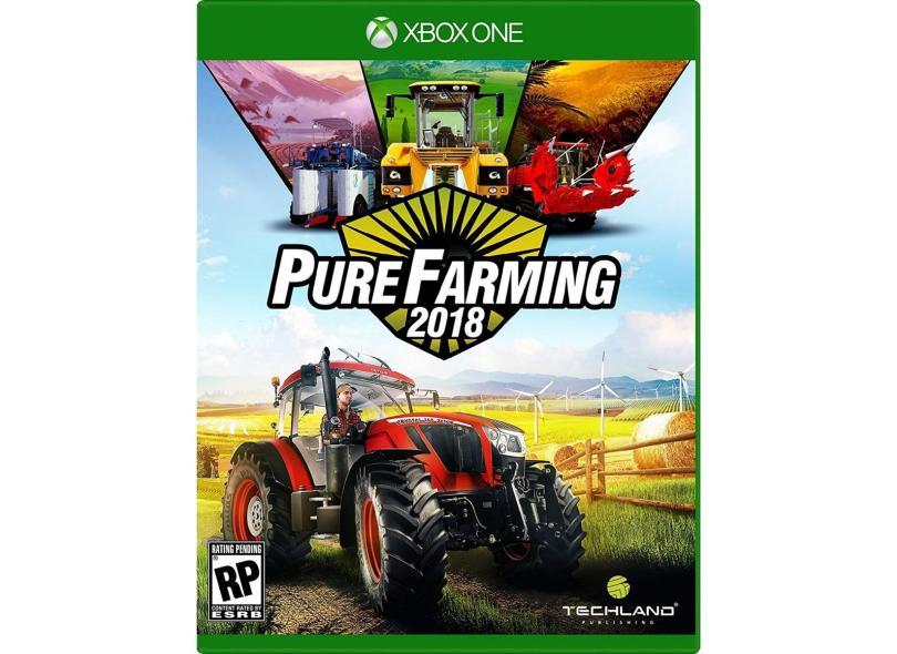 Jogo Pure Farming 2018 Xbox One Techland