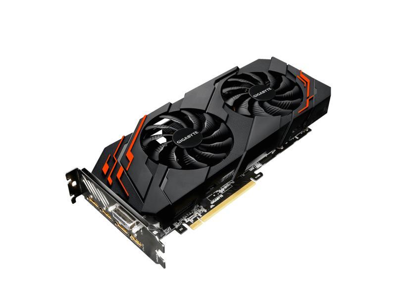 Placa de Video NVIDIA GeForce GTX 1070 8 GB GDDR5 256 Bits Gigabyte GV-N1070WF2OC-8GD (rev. 2.0)
