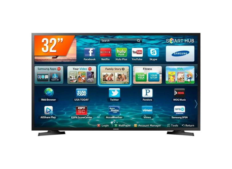 "Smart TV TV LED 32 "" Samsung LH32BENELGA/ZD 2 HDMI"