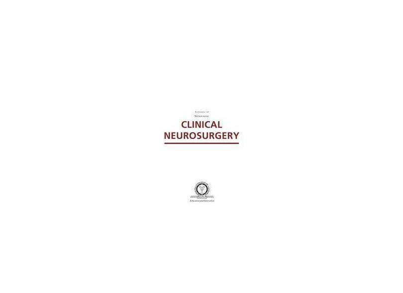 CLINICAL NEUROSURGERY - Hankinson - 9781451175523