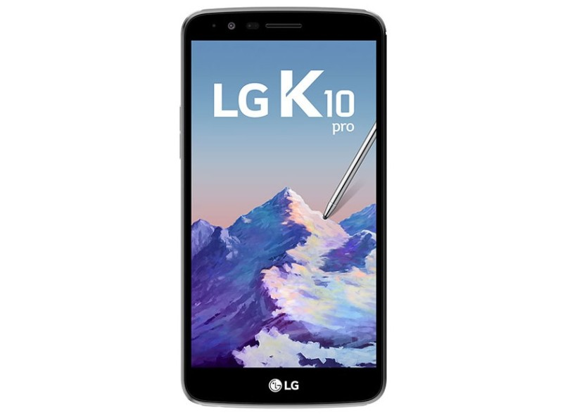 Smartphone LG K10 Pro 32GB 13,0 MP 2 Chips Android 7.0 (Nougat) 3G 4G Wi-Fi