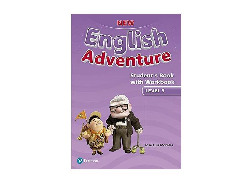 New English Adventure: Students Book With Workbook - Level 5 - Regina Raczynska - 9781292182001