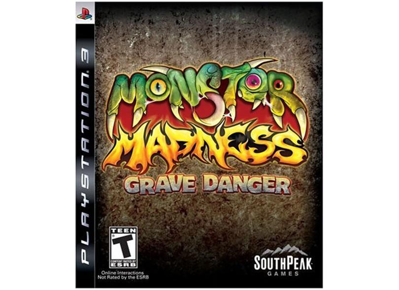 Jogo Monster Madness: Grave Danger SouthPeak PS3