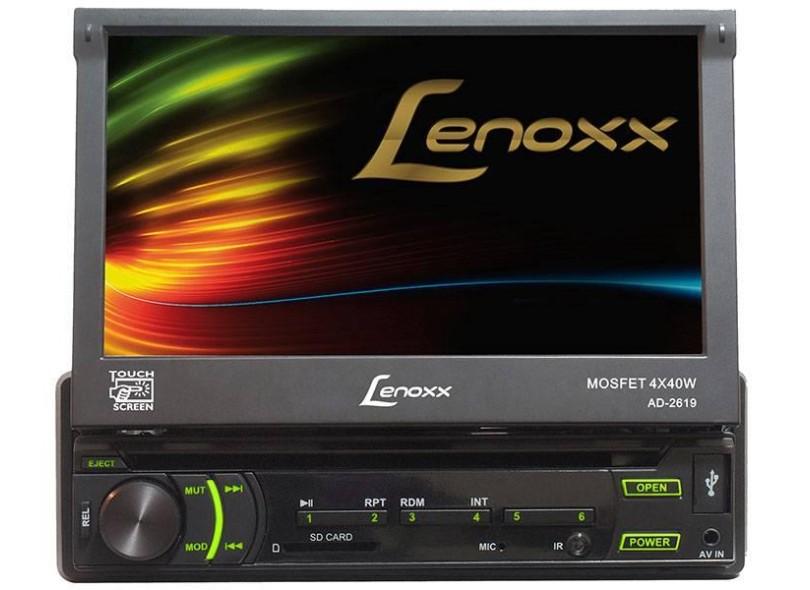 DVD Player Automotivo Lenoxx Sound AD-2619