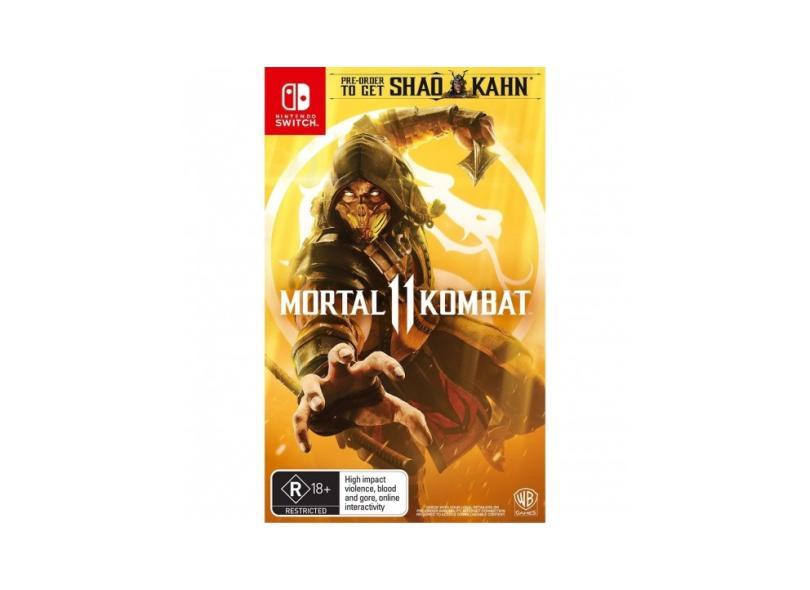 Jogo Mortal Kombat 11 Warner Bros Nintendo Switch