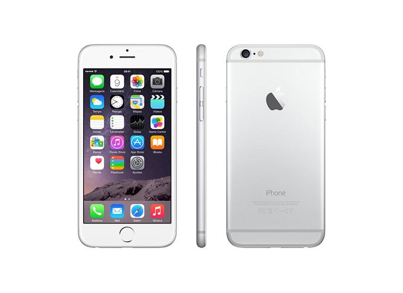 Novo Smartphone Apple iPhone 6 128GB iOS 8 3G 4G Wi-Fi