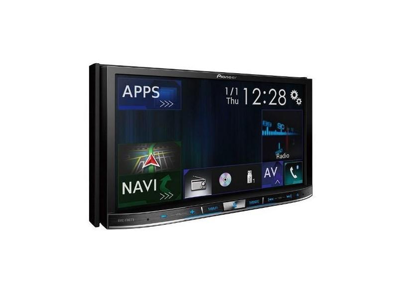 """Central Multimídia Automotiva Pioneer 7 """" AVIC-F80TV"""
