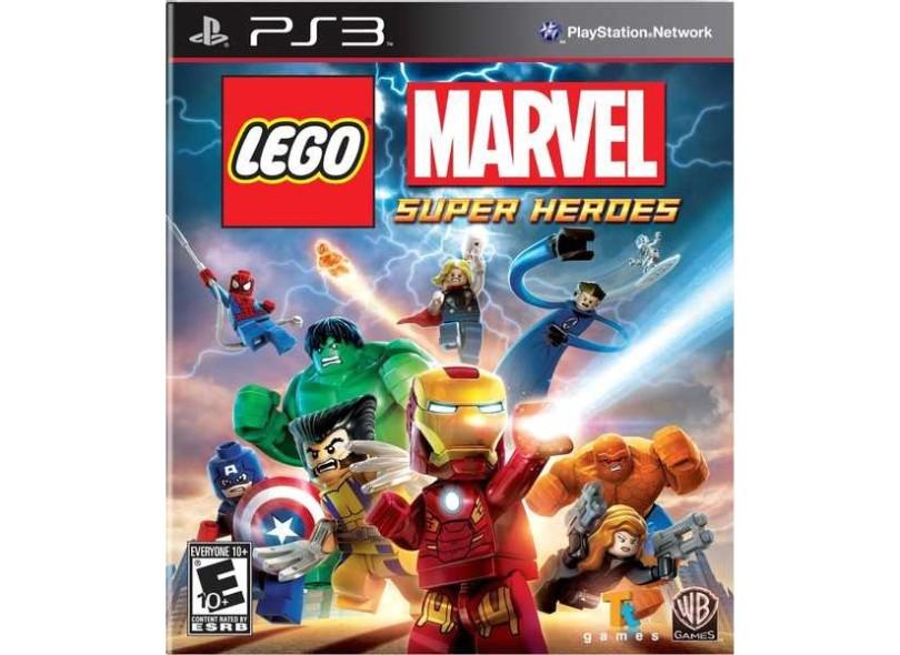 Jogo Lego Marvel Super Heroes PlayStation 3 Warner Bros