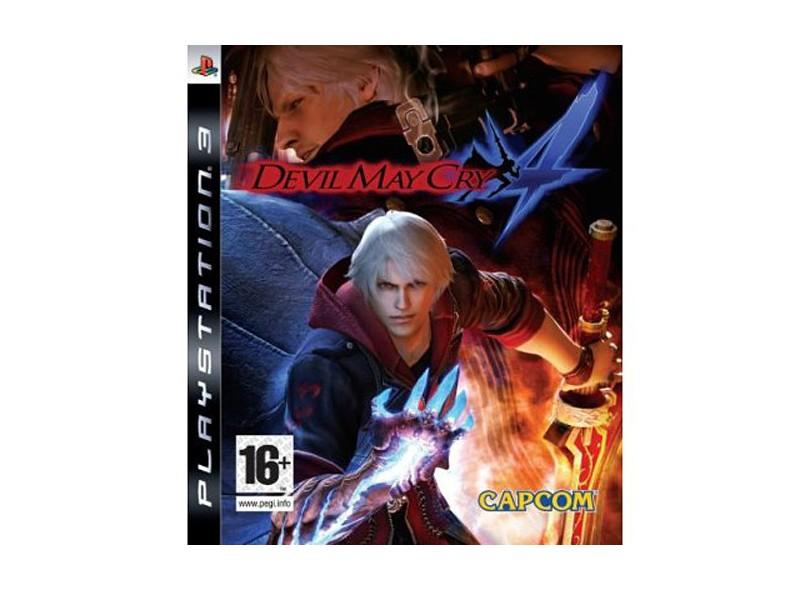 Jogo Devil May Cry 4 Capcom PS3