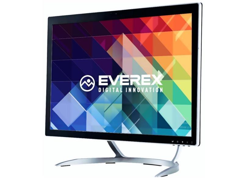 "All in One Everex OnePower Intel Core i3 5005U 2.0 GHz 8 GB 480 GB 21.5 "" Windows 10 OT1 EVRAI3B848W-21"