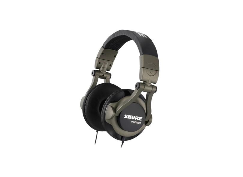 Headphone Shure SRH550DJ