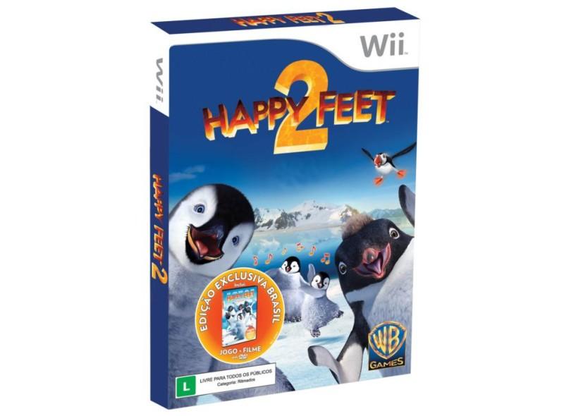 Jogo Happy Feet 2  EA Wii