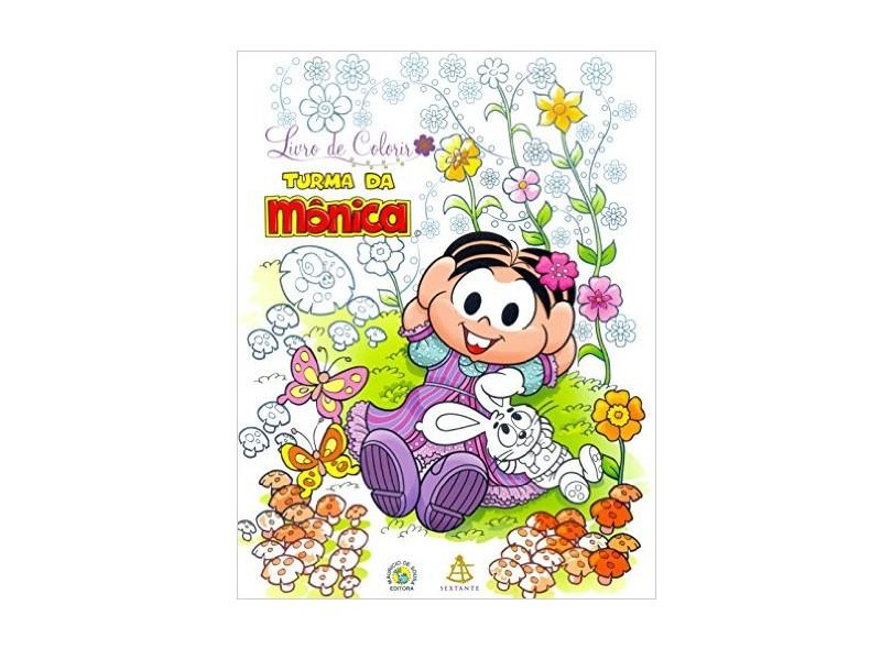 Livro de Colorir - Turma da Mônica - Sousa, Mauricio De - 9788543102696