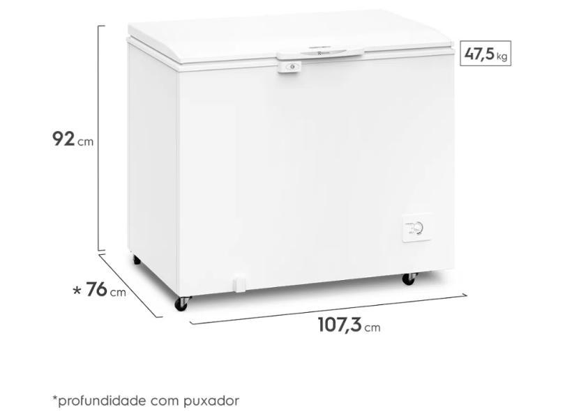 Freezer Horizontal 314 l Electrolux H330
