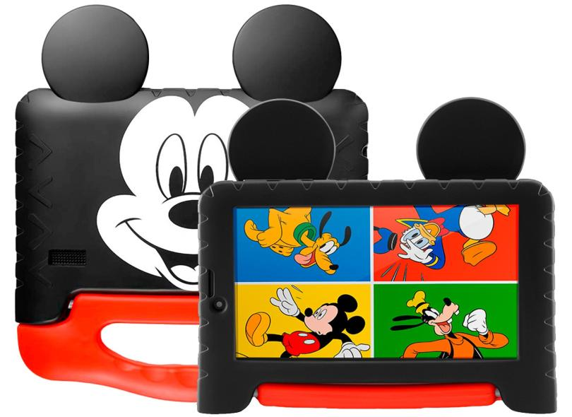 """Tablet Multilaser 16.0 GB LCD 7 """" Android 8.1 (Oreo) 2.0 MP Mickey Plus NB314"""