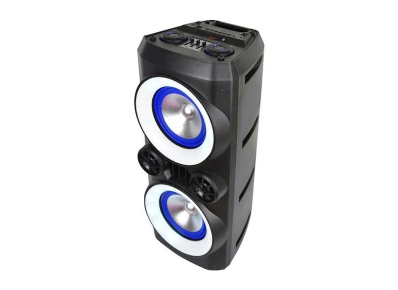 Caixa de Som Bluetooth Multilaser Mini Torre Neon X SP379 300 W