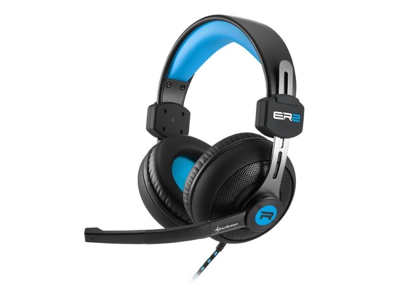 Headset com Microfone Sharkoon RUSH ER2