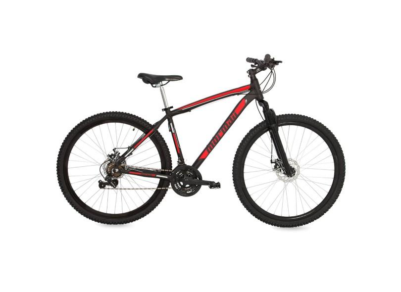 Bicicleta Mountain Bike Mormaii 21 Marchas Aro 29 Suspensão Dianteira a Disco Venice