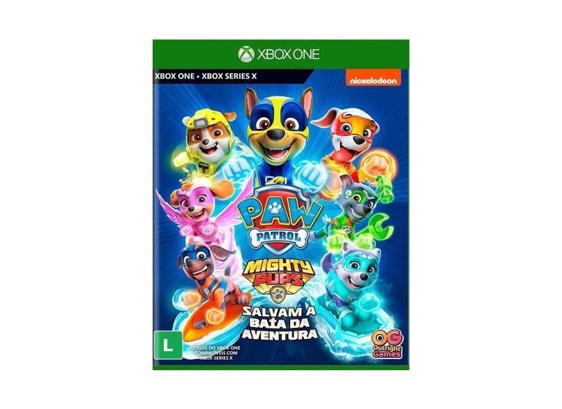 Jogo Patrulha Canina: Super Filhotes Salvam a Baía da Aventura Xbox One Outright Games