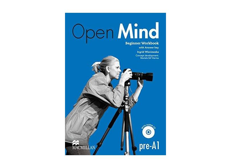 Open Mind Beginner - Workbook With CD And Key - Zemach, Doroty; - 9780230458369