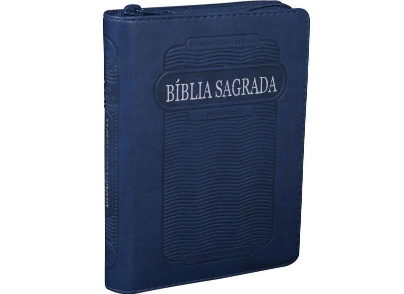 Bíblia Sagrada - Letra Grande - Sbb - Sociedade Biblica Do Brasil - 7898521808112