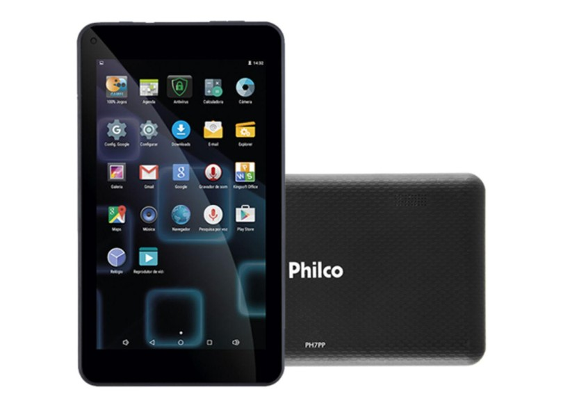 """Tablet Philco 8.0 GB LCD 7 """" Android 5.1 (Lollipop) PH7PP"""