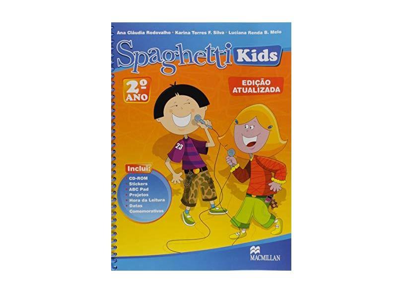 Promo-Spaghetti Kids. Student's Pack 2 (New) - Ana Claudia Rodovalho - 9786685731798