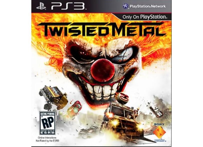 Jogo Twisted Metal Sony PlayStation 3