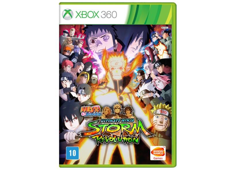 Jogo Naruto Shippuden: Ultimate Ninja Storm Revolution Xbox 360 Bandai Namco