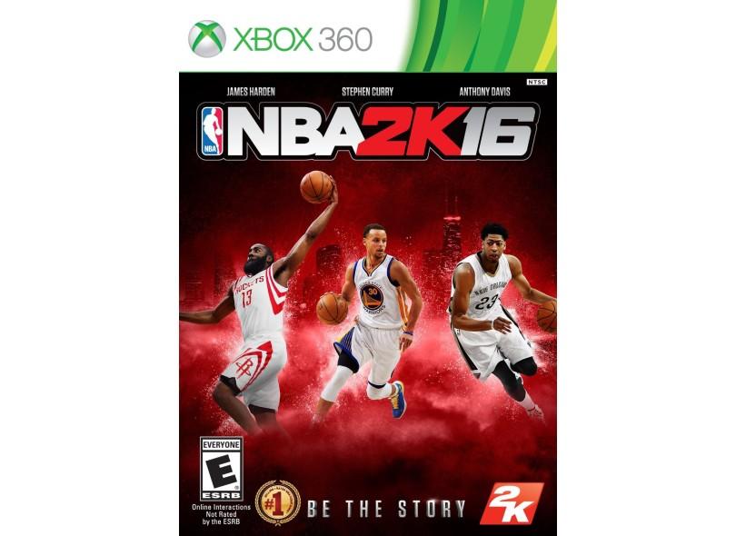 Jogo NBA 2K16 Xbox 360 2K
