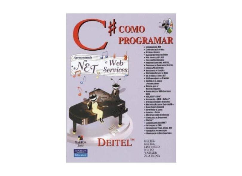 C# Como Programar - Deitel, H.m. - 9788534614597