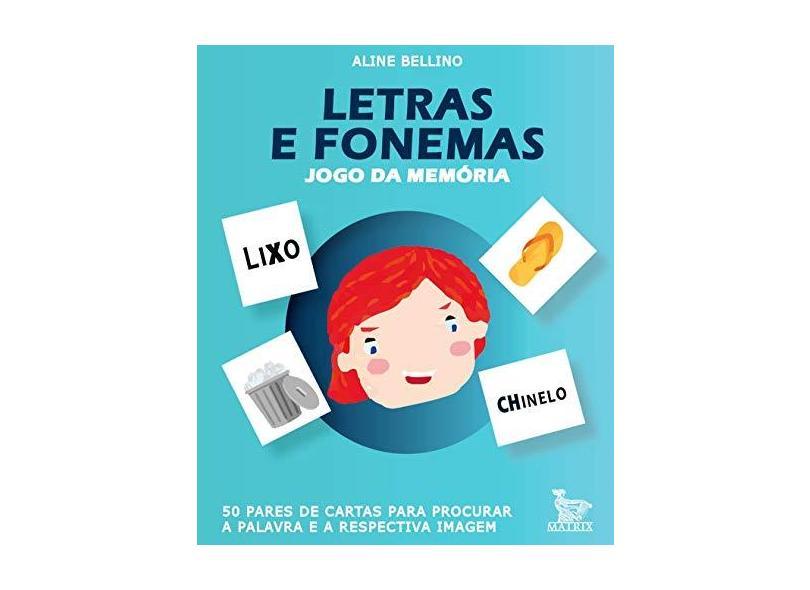 Letras e Fonemas - Aline Bellino - 9788582302996