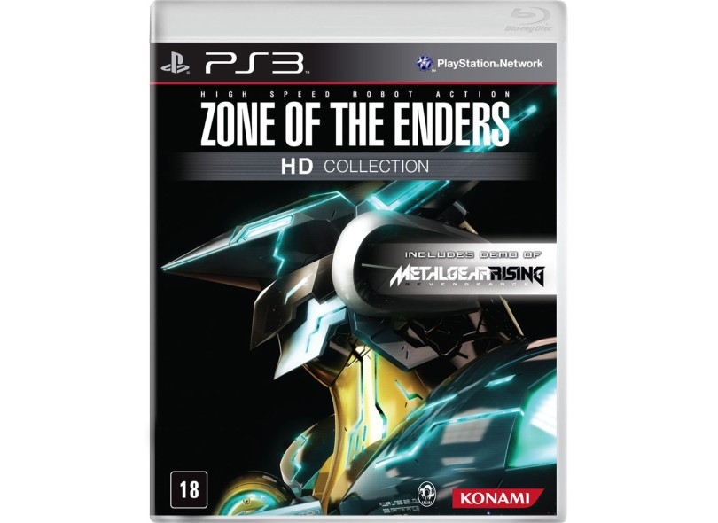 Jogo Zone of the Enders HD Collection Konami PlayStation 3